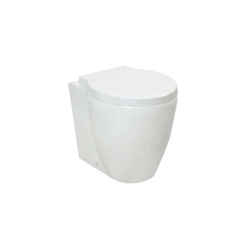 Back To Wall Toilet with uf seat cover --BTW902