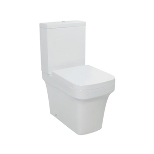 Wash down toilet with UF seat cover --SD618