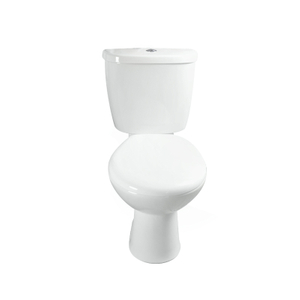 luxury western style ceramic two piece P-trap toilet --SD306